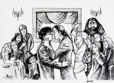 Harry's Wedding by tripperfunster