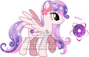 Sakura Pony Adoptable (CLOSED) by KingPhantasya
