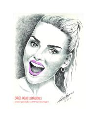 Perrie Edwards of Little Mix by speedhunter25