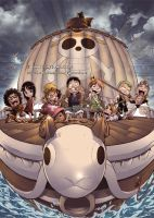 ONE PIECE CREW Childhood by marvelmania
