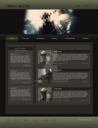 CMDO Clan Website by lengend
