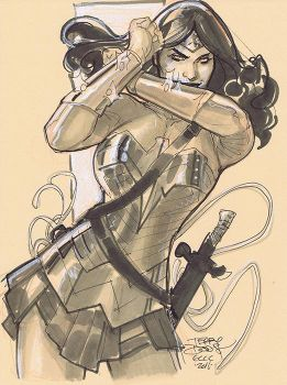 Wonder Woman ECCC 2016 by TerryDodson