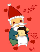 gnome x nick is otp by DrowVisionary