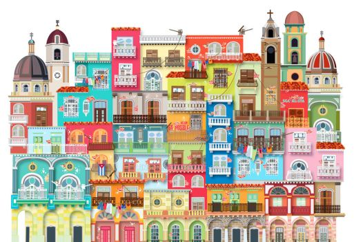 Cuba Walled City by yinson