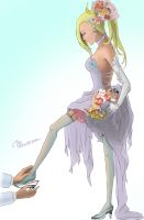 Ino - Cinderella color by CRXTHRASHER