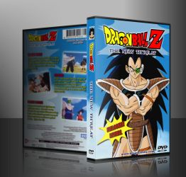 DBZ Retro style DVD for Bruce Faulconer project by SylentEcho88