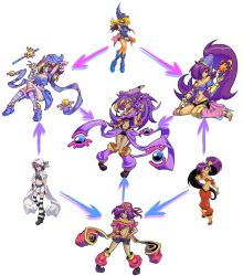 Hexafusion - Cute Magic Users by HallowGazer