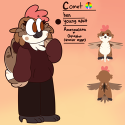 Comet Reference by Saveraedae