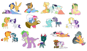 Teeny Ships by MoonriseDawn