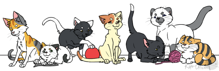 Neko Atsume by KeaveMind