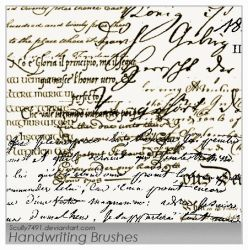 Handwriting by Scully7491