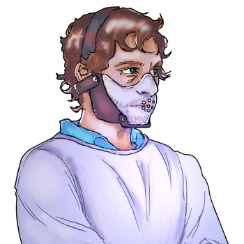 Will Graham In mask. by kyuubi-overrated