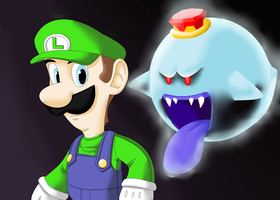 Luigi's Mansion by TerryRed