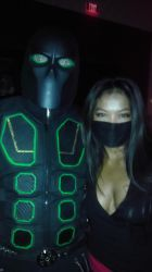 Ninja-X with ninja lady by schooltrashers