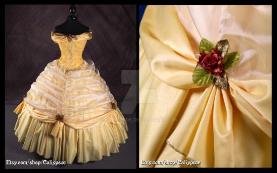 Belle's Ball Gown 1 by Caliypsoe
