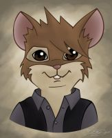 As a Redwall Mouse by Lemonoid