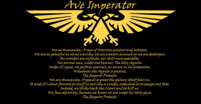Imperial Creed  by SPARTAN-180