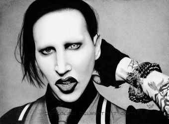 Marilyn Manson by Thea-Nu