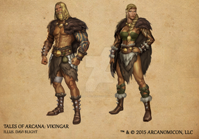 Tales of Arcana 1st Set - Vikingar by TalesofArcanaRPG