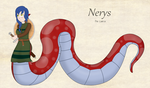 Nerys the Lamia by kaafan33