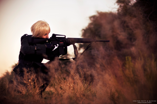 On the Front Line by Kateliana