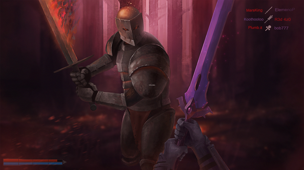 Terraria x Chivalry by twotimesthedime