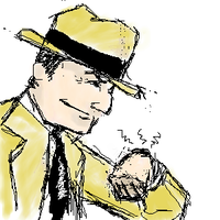 Dick Tracy by ObsessiveSketch