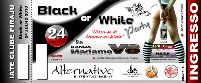 Ingresso Black or White by battiston