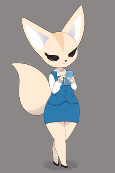 Fenneko by PastellettaArt