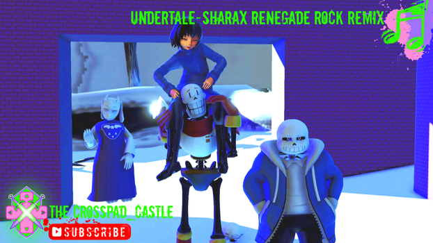 Undertale-SharaX Renegade5 by CrossPadCastle