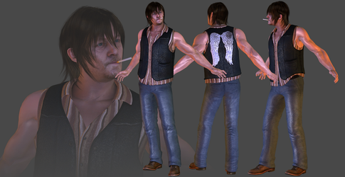 TWD - Daryl Dixon DL by TheRaiderInside