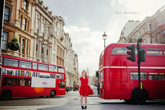 London || RED by raemarshall