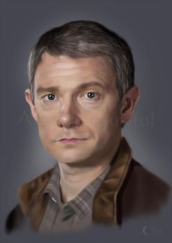 A Painting of Dr Watson by jht888