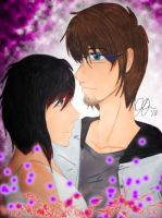 Young Couple by DeathGoddess231