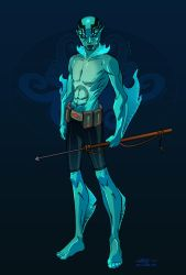 Abe Sapien by Nexxorcist