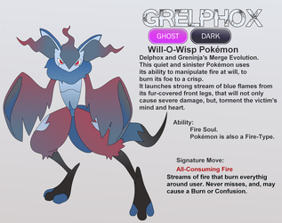 Grelphox, the soul-consuming fire. by GayOwl