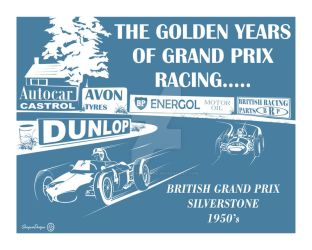 The Golden Years of Grand Prix Racing by SturgessDesigns