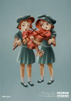 The Violinists by benjelfs