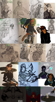 AA { Zeloph Sketchdump } by ElectricType