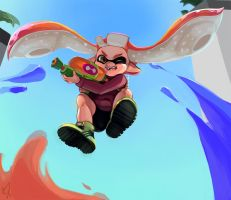 Splatoon: Tentatek by ArtofCelle
