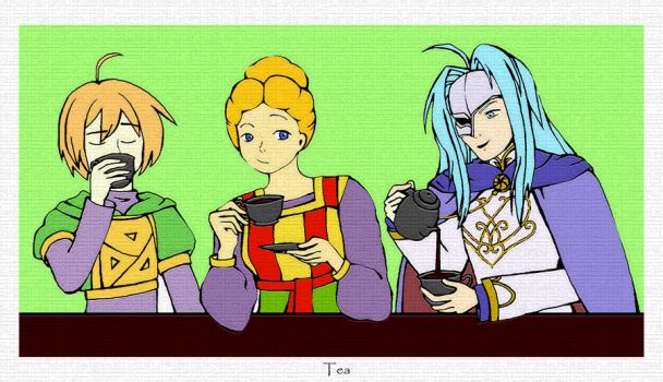 Tea Party by Ask-Dora
