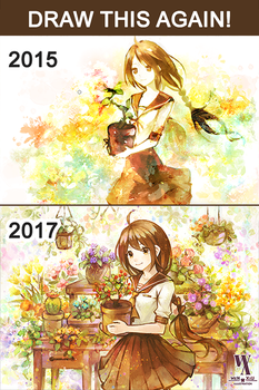 Draw This Again! - Botanica - 2015 and 2017 by WeN-XiU