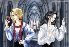 IWTV Lestat and Louis by TheBratPrince