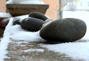 Stone in Snow color by coffeenoir