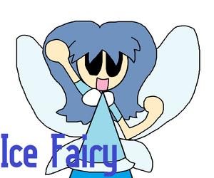 Ice Fairy by Sandrag1