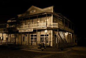 Wild West Saloon by ranter69