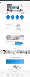 Mixed - Modern and Professional HTML Template by pixel-industry