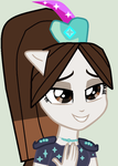 My little pony equestria girls crystal gurdian Kyr by cuteflu