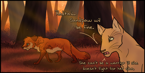 Panel Swap: Redtail's Choice by Songdog-StrayFang