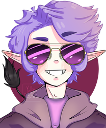 Gotta Love Purple! (Contest Entry) by YellingPotatoes